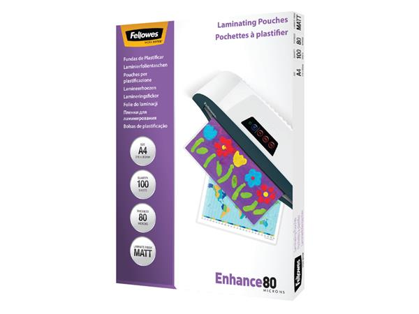 LAMINEERHOES FELLOWES A4 2X80MICRON MAT