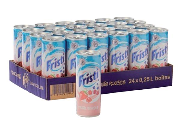 Frisdrank Fristi blikje 0.25l