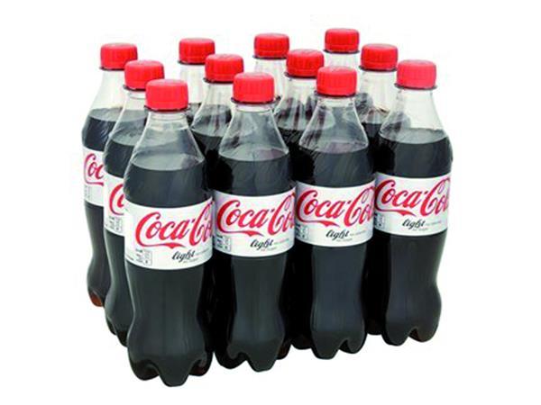 Frisdrank Coca Cola Light petfles 0.50l