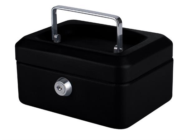 Geldkist Quantore 150x115x80mm zwart