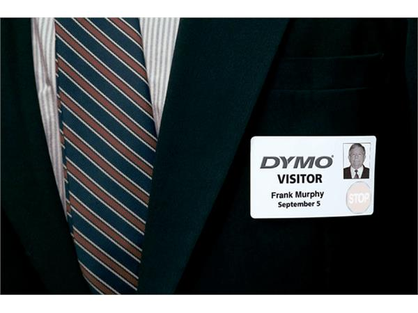 LABEL ETIKET DYMO 99014 54MMX101MM BADGE WIT