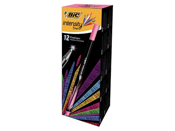 FINELINER BIC INTENSITY 0.4MM ROZE