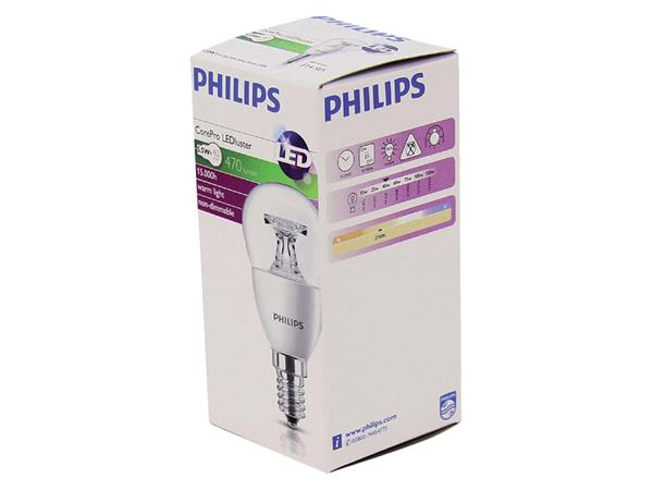 LEDLAMP PHILIPS E14 5.5-40W 827 COREPRO LUSTRE