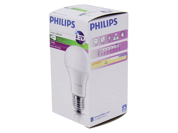 LEDLAMP PHILIPS E27 13.5-100W 827 COREPRO LEDBULB