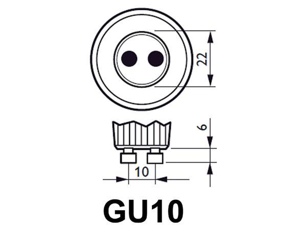 LEDLAMP PHILIPS SPOT GU10 4.9-50W GU10 DIMTONE
