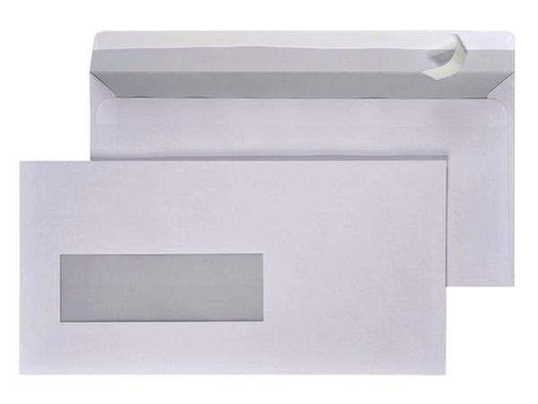 ENVELOP HERMES DIGITAL EA5/6 VL STRIP 90GR WIT