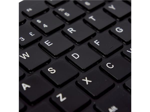 TOETSENBORD R-GO COMPACT QWERTY ZWART