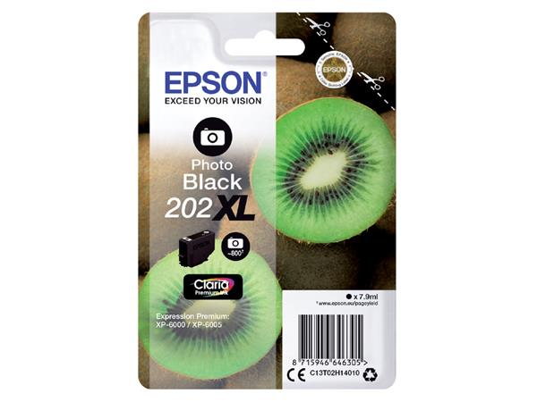Inktcartridge Epson 202XL T02H14 foto zwart HC