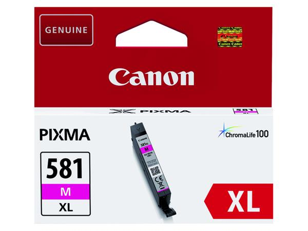 Inktcartridge Canon CLI-581XL rood HC