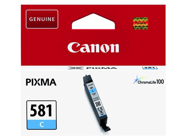 Inktcartridge Canon CLI-581 blauw