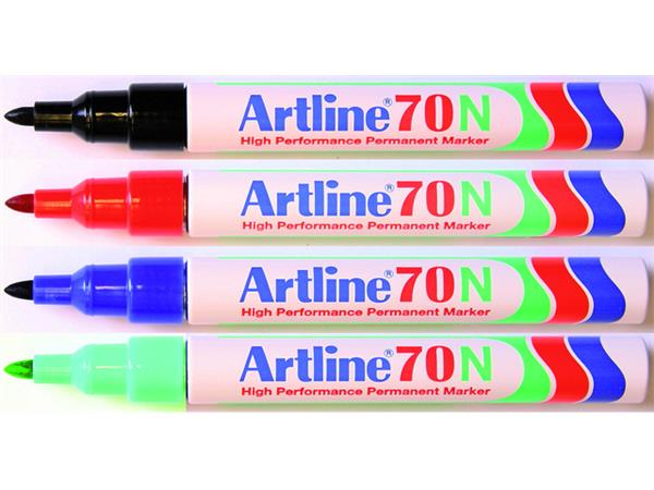 VILTSTIFT ARTLINE 70 ROND 1.5MM ZWART