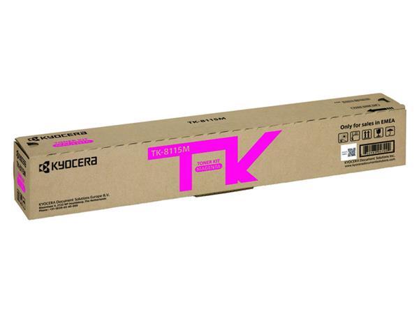 Toner Kyocera TK-8115 rood