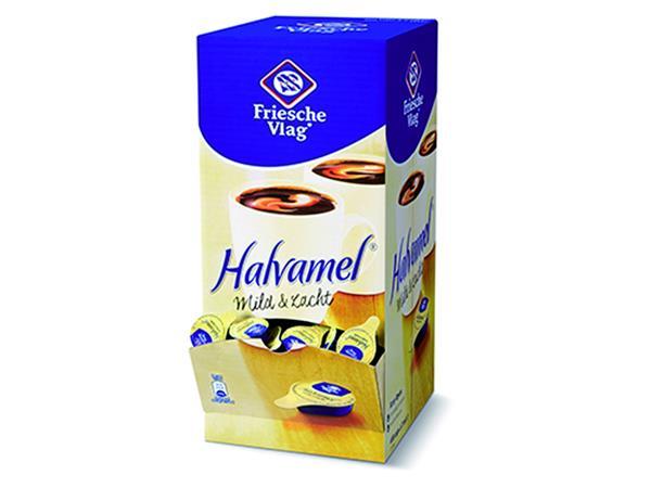 Koffiemelk Friesche vlag halvamel 7.5 gram 400 stuks