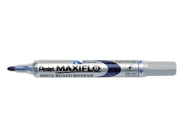 VILTSTIFT PENTEL MWL5 WHITEBOARD MAXIFLO 1MM BLAUW