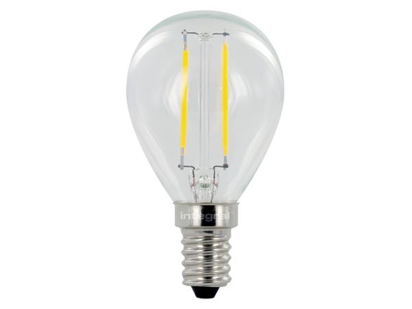 LEDLAMP INTEGRAL E14 2W 2700K WARM WIT