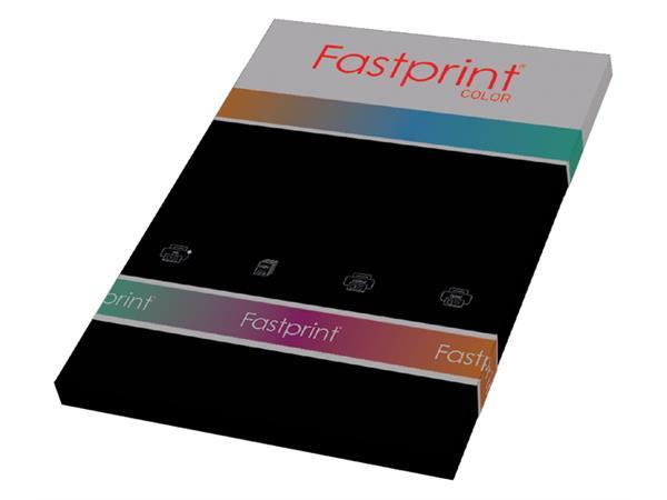Kopieerpapier Fastprint A4 160gr zwart 50vel