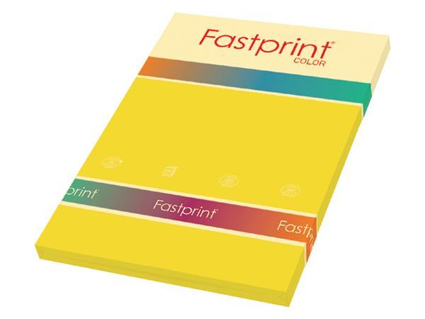 Kopieerpapier Fastprint A4 120gr diepgeel 100vel