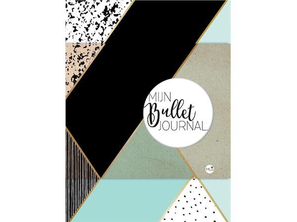 Bullet Journal mint & goud dots