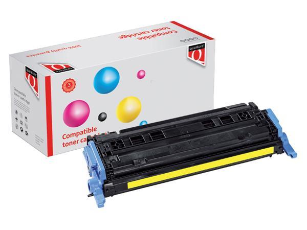 Tonercartridge Quantore HP Q6002A 124A geel
