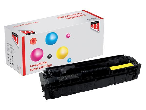 TONERCARTRIDGE QUANTORE HP CF402X 2.3K GEEL