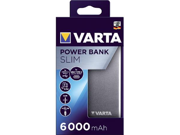POWERPACK+VARTA+6000MAH+ZILVER