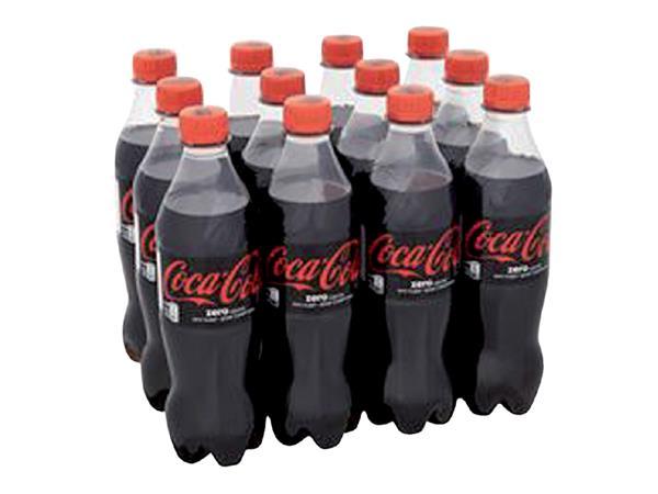 Frisdrank Coca Cola Zero petfles 0.50l