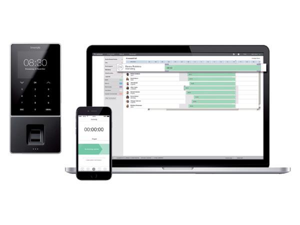 Tijdregistratiesysteem TimeMoto TM-828