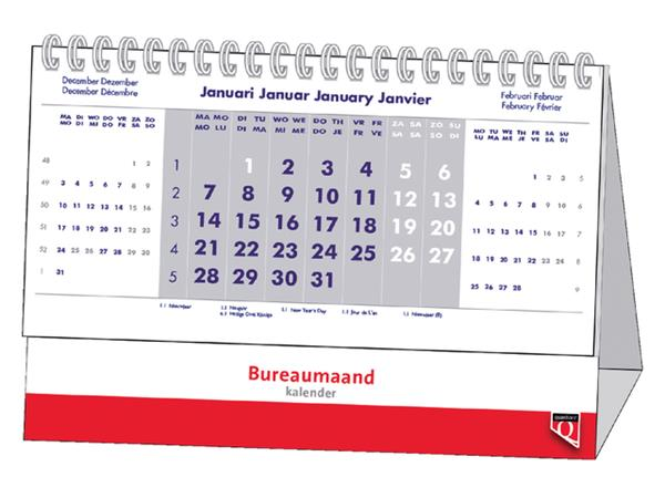 BUREAU-MAANDKALENDER 2022 QUANTORE