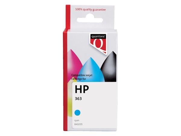 INKCARTRIDGE QUANTORE HP 363 C8771EE BLAUW