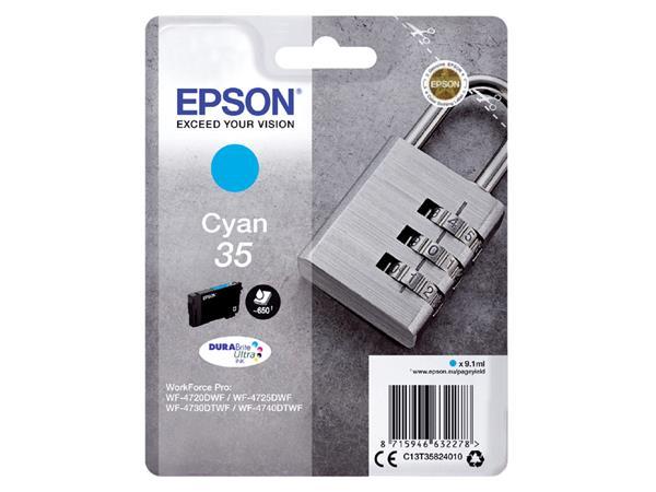 Inktcartridge Epson 35 T3582 blauw