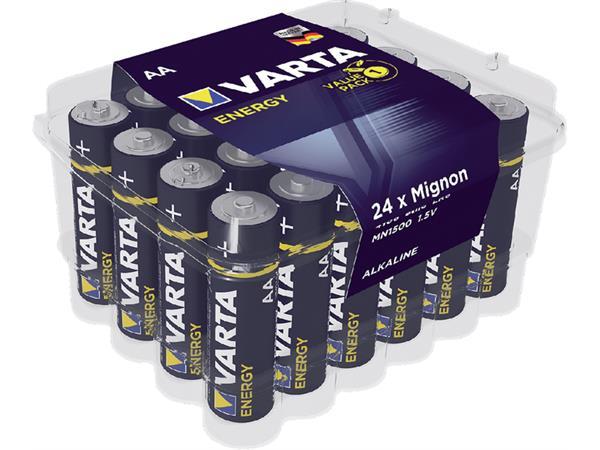 Batterij Varta energy 24xAA voordeelbox