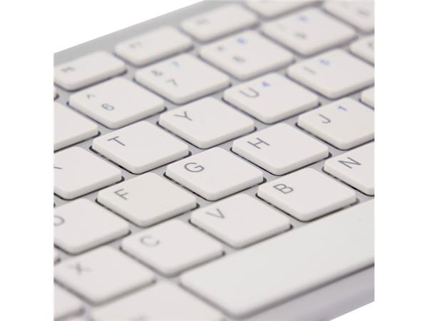 TOETSENBORD R-GO COMPACT AZERTY WIT