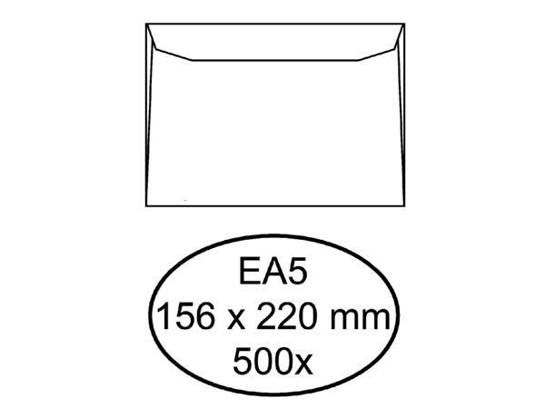 ENVELOP QUANTORE BANK EA5 156X220 80GR WIT