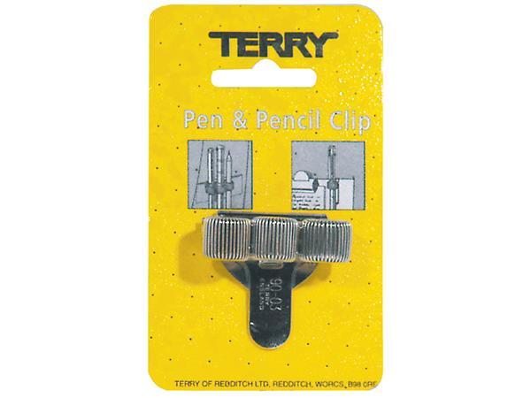 TERRY CLIP VOOR 3 PEN/POTLOOD