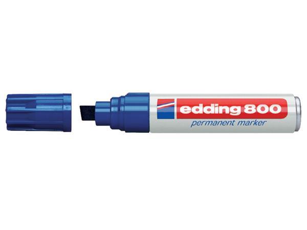 VILTSTIFT EDDING 800 SCHUIN 4-12MM BLAUW