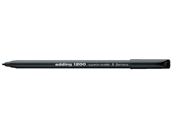 FINELINER EDDING 1200 0.5-1MM ZWART