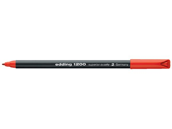 FINELINER EDDING 1200 0.5-1MM ROOD