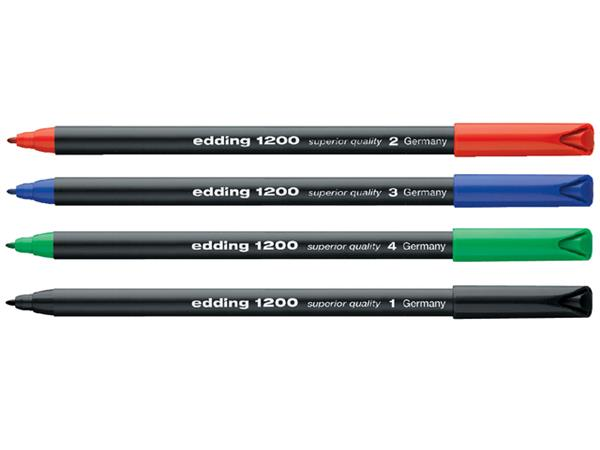 FINELINER EDDING 1200 0.5-1MM BLAUW