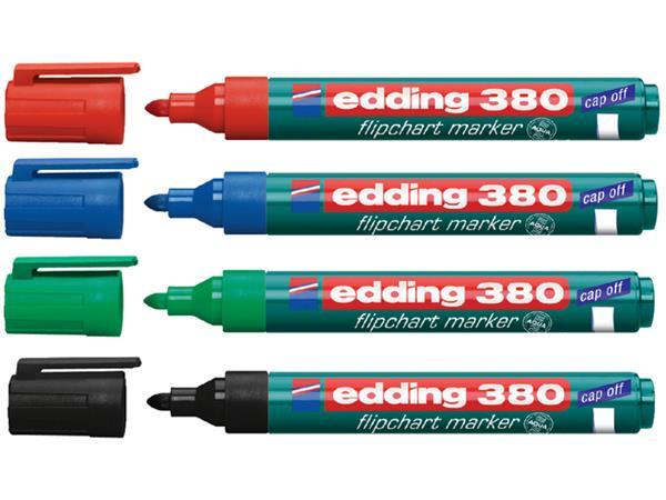 VILTSTIFT EDDING 380/4S FLIPOVER ROND 1.5-3MM ASS