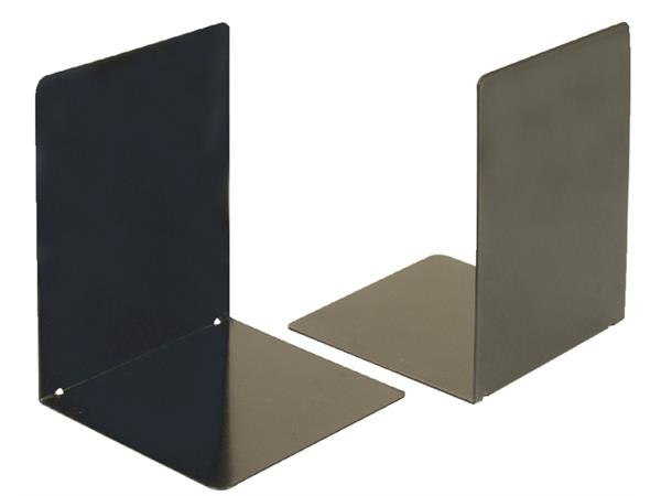 stel boekensteunen OIC 16x12cm zwart