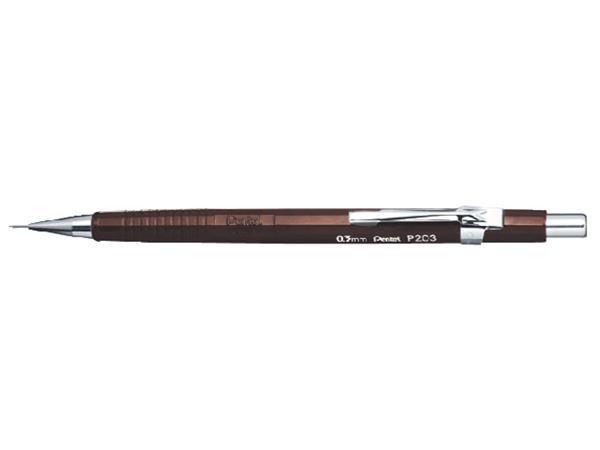 Vulpotlood pentel P203 0.3mm bruin