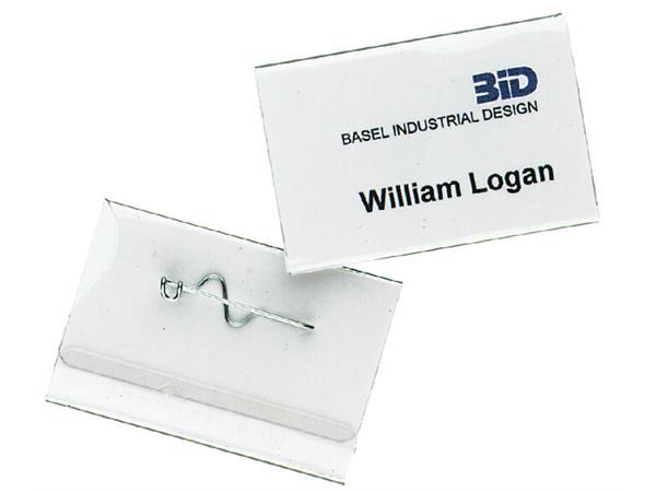 BADGE DURABLE 8100 CONGRESSPELD 40X60MM