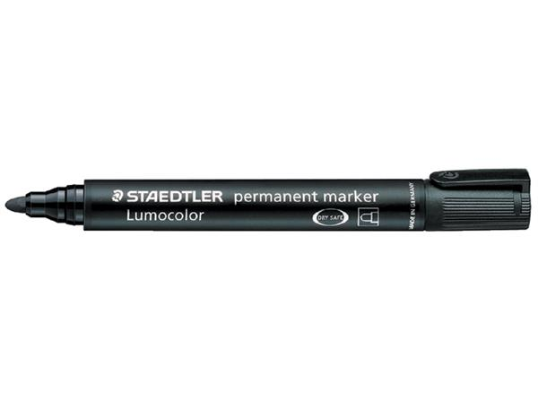 Viltstift Staedtler 352 rond zwart 2mm