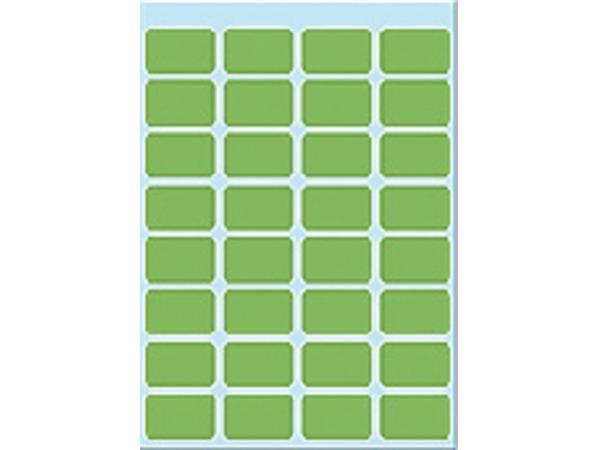 Etiket Herma 3645 12x19mm groen 160stuks