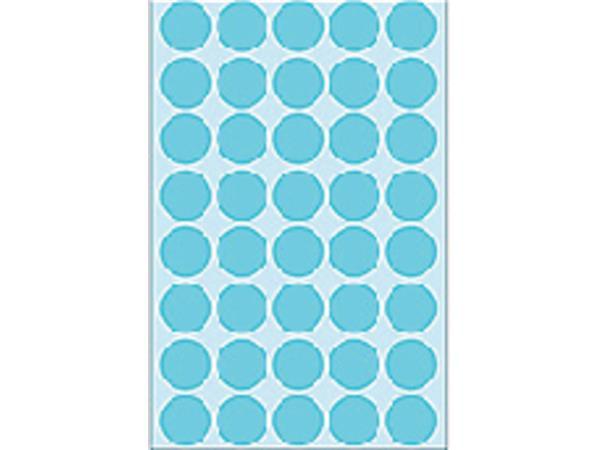Etiket Herma 2253 rond 19mm blauw 1280stuks