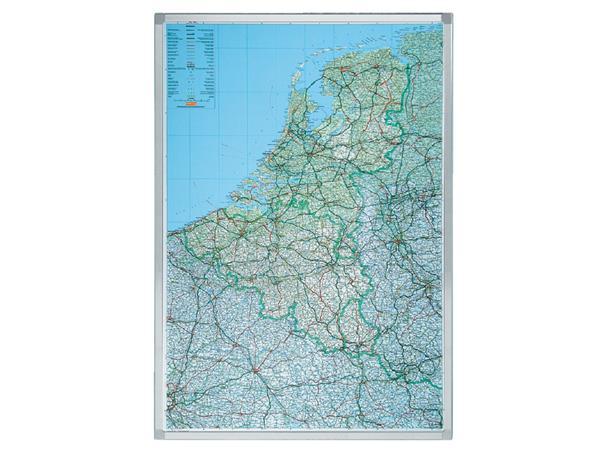 Landkaart Legamaster Benelux 105x88cm