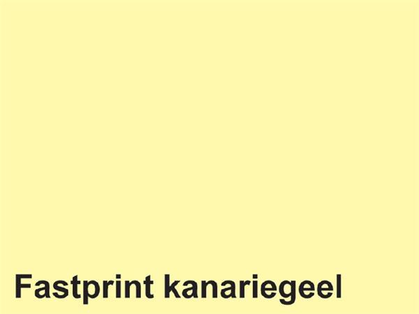 KOPIEERPAPIER FASTPRINT-50 A4 160GR KANARIEGEEL