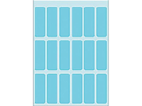 Etiket Herma 3653 12x34mm blauw 90stuks