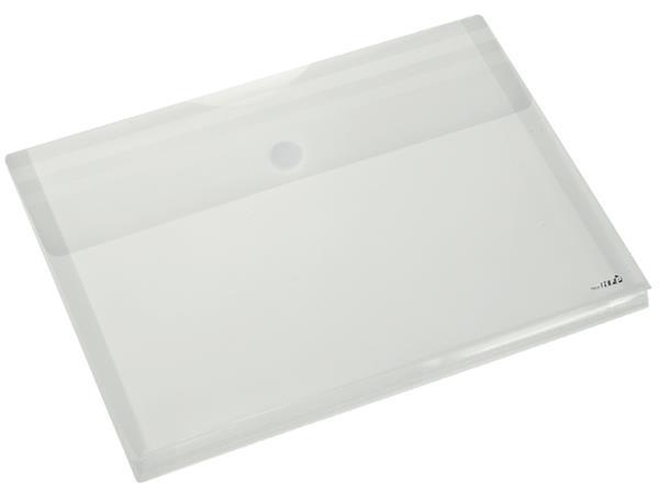 Enveloptas HF2 A4 dwars met flexibele bodem tot 3cm wit