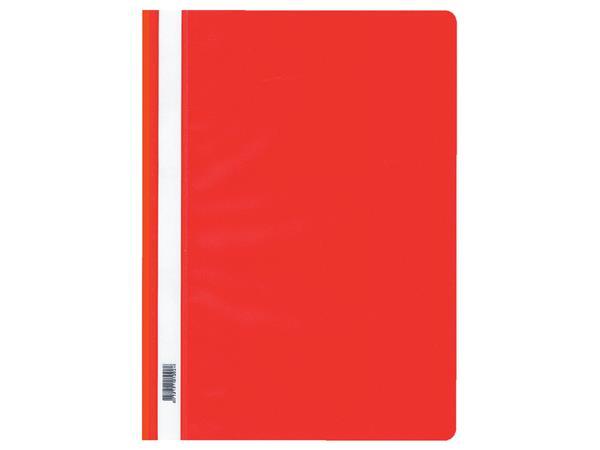 Snelhechtmap Quantore A4 PP rood